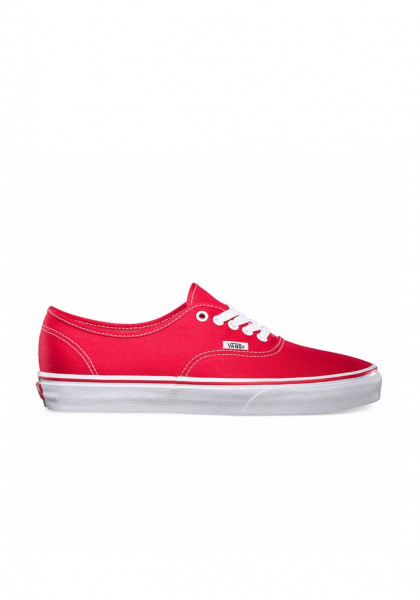 SCARPE SKATEBOARD VANS AUTHENTIC RED