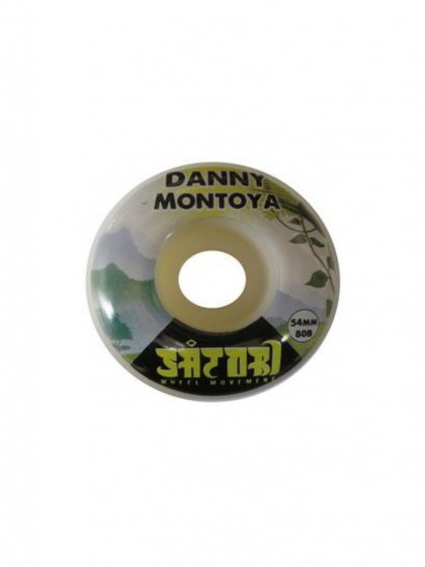 RUOTE SKATEBOARD SATORI 54mm DANNY MONTOYA FOREST 80B