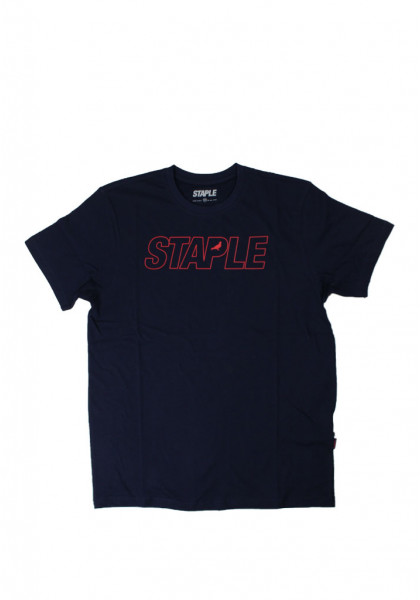 staple-oversize-logo-tee-navy