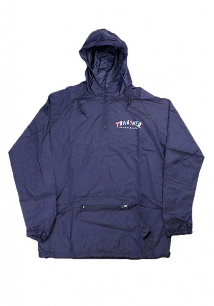 thrasher-thrasher-knock-off-anorak-navy