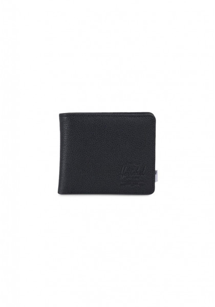 portafoglio-herschel-roy-+-coin-xl-leather-rfid-black-pebbled-leather