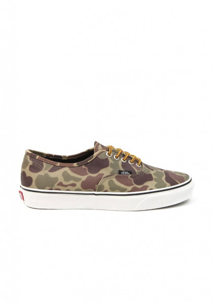 SCARPE SKATEBOARD VANS AUTHENTIC (WAXED CANVAS) CAMO