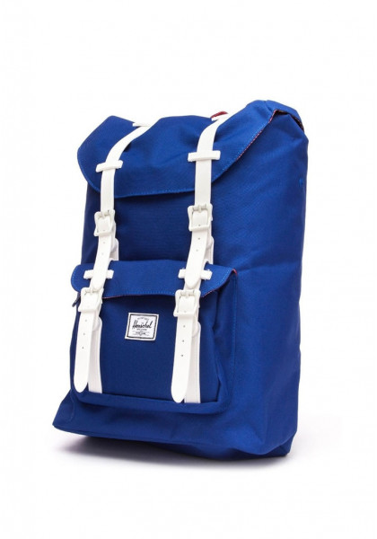 HERSCHEL LITTLE AMERICA RUBBER CLASSICS COLL. DEEP ULTRAMARINE RED