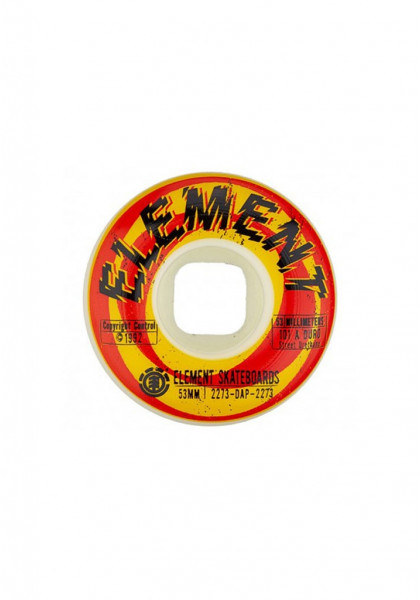 RUOTE SKATEBOARD ELEMENT SHOCKED STREET 53mm