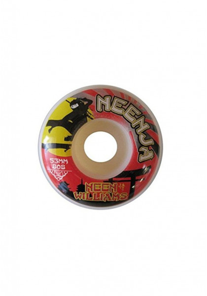 RUOTE SKATEBOARD SATORI 53mm NEENJA PRO NEEN WILLIAMS 80B