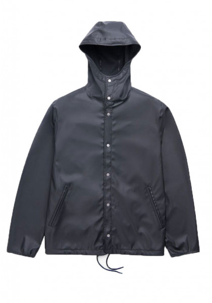 herschel-forecast-hooded-coaches-men's-jacket-black