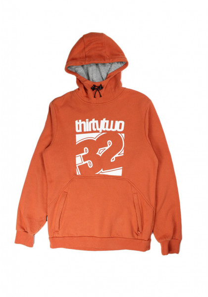 felpa-cappuccio-uomo-32-thirtytwo-stamped-po-fleece-burnt-orange