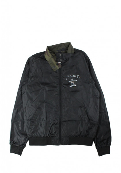 giacca-uomo-thrasher-gonz-reversible-coach-jacket-black-camo