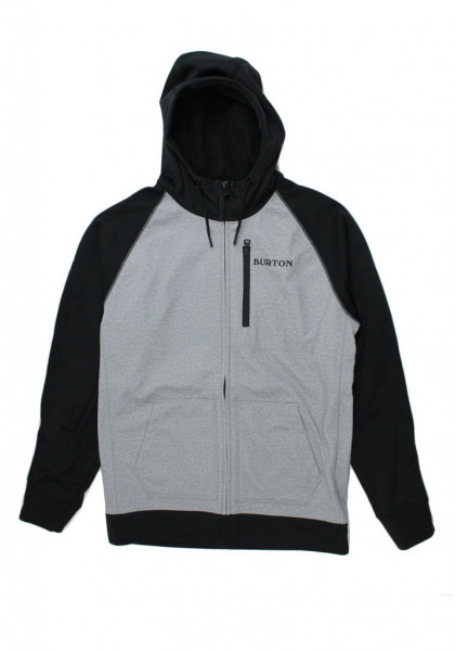 felpa-cappuccio-uomo-burton-crown-bonded-full-zip-gray-heather-true-black