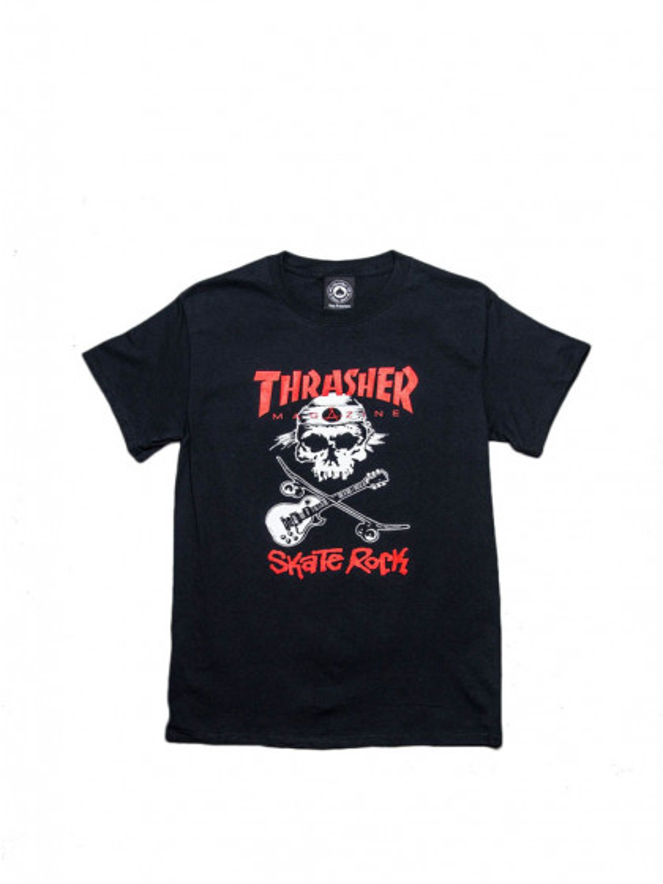 t-shirt-maniche-corte-uomo-thrasher-skate-rock-tee-black