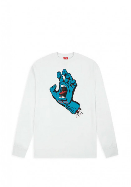 t-shirt-maniche-lunghe-uomo-santa-cruz-screaming-hand-l/s-t-shirt-white
