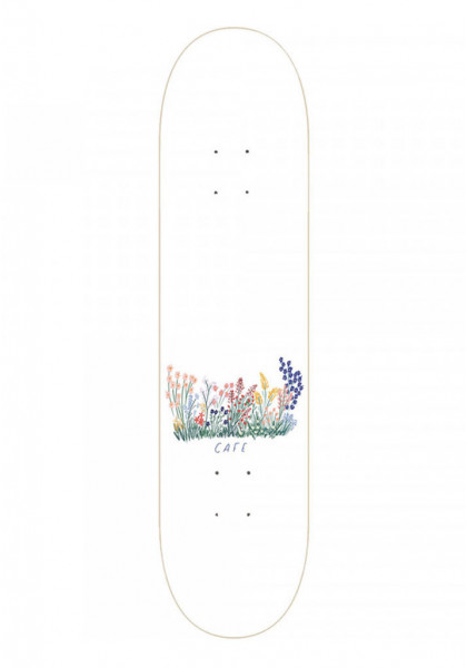 "tavola-skateboard-skateboard-cafe-flower-bed-white-8.125""-+-grip-in-omaggio"