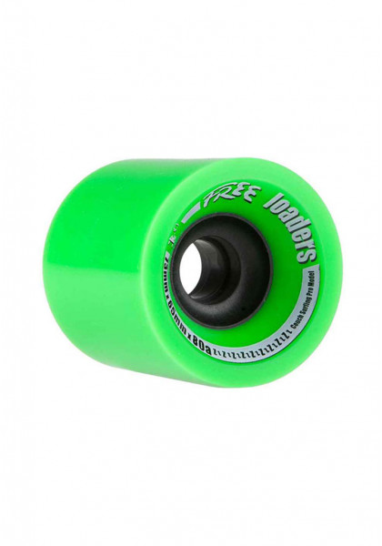 ruote-longboard-free-wheels-free-loaders-73mm-80a-green