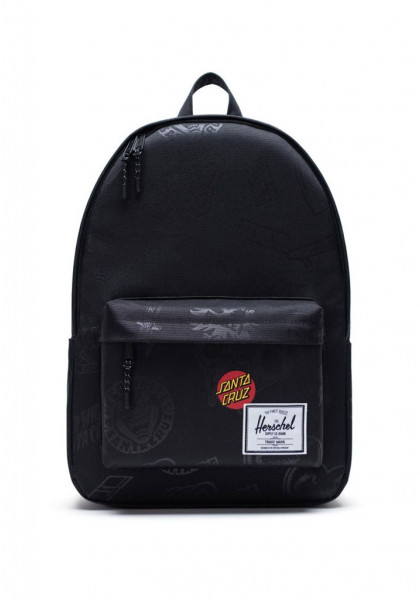 zaino-herschel-classic-x-large-black-speed-wheels