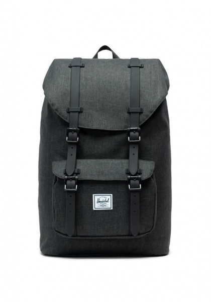 zaino-herschel-little-america-mid-volume-black-crosshatch-black