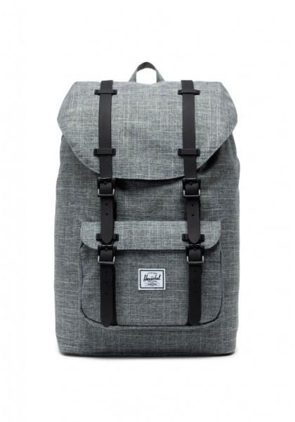zaino-herschel-little-america-mid-volume-raven-crosshatch-black