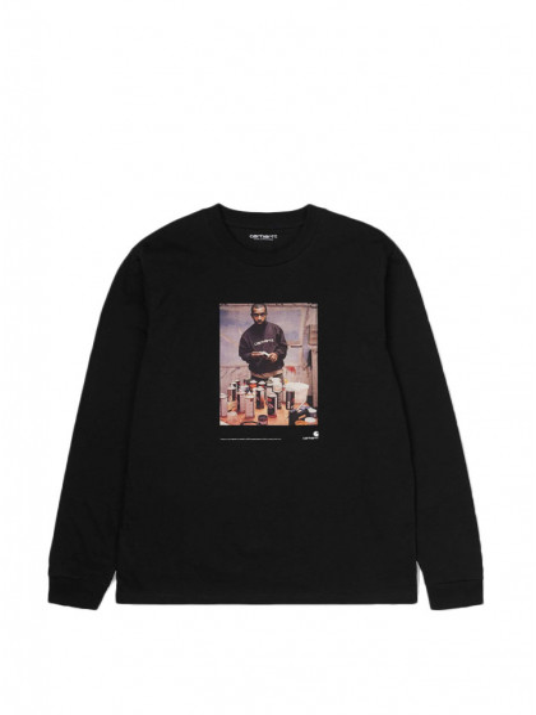 t-shirt-maniche-lunghe-uomo-carhartt-l/s-1998-ad-jay-one-t-shirt-black