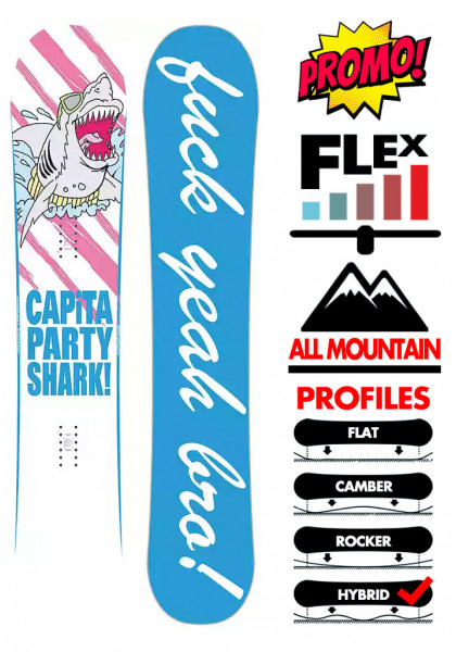 tavola-snowboard-uomo-capita-party-shark-2021
