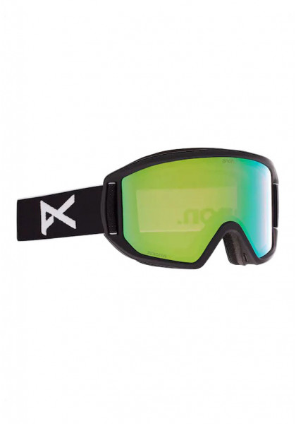 maschera-da-snowboard-anon-relapse-goggle-+-bonus-lens-black-/-perceive-variable-green