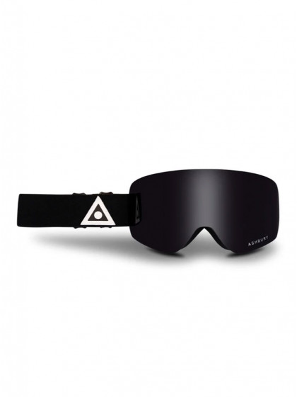 maschera-da-snowboard-ashbury-sonic-black-triangle-+-bonus-lens-dark-smoke-unico