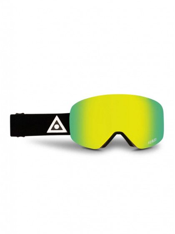 maschera-da-snowboard-ashbury-hornet-black-triangle-+-bonus-lens-gold-mirror-unico