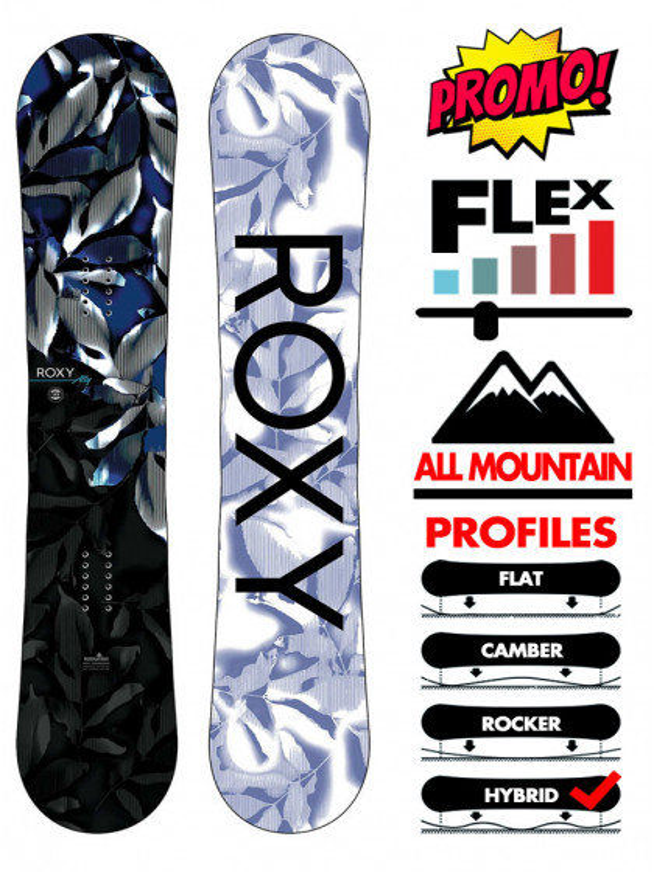 tavola-snowboard-donna-roxy-ally-2021