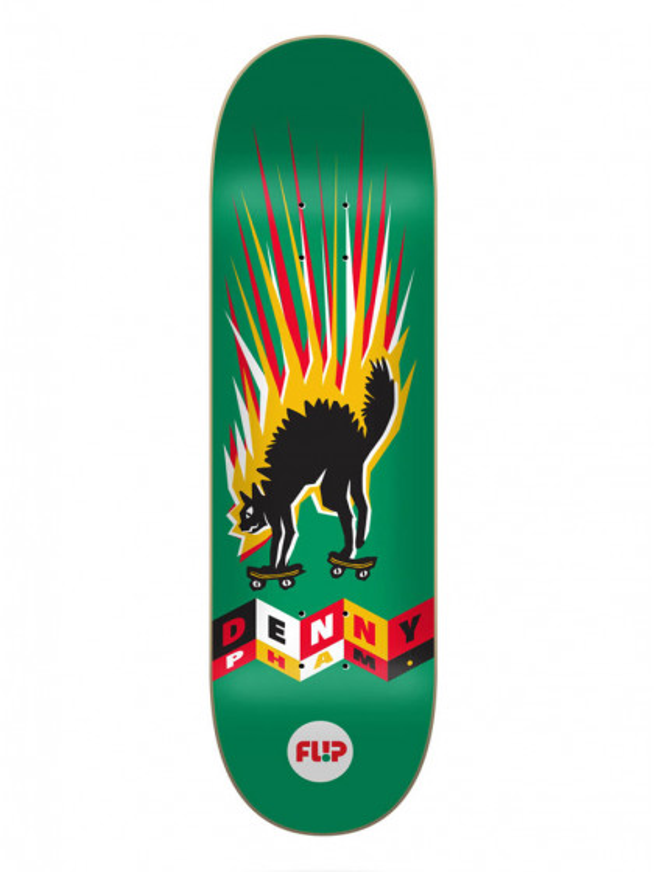 "tavola-skateboard-flip-denny-tin-toys-8.25""-+-grip-omaggio"