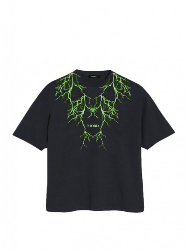 t-shirt-maniche-corte-uomo-phobia-green-lighting-black