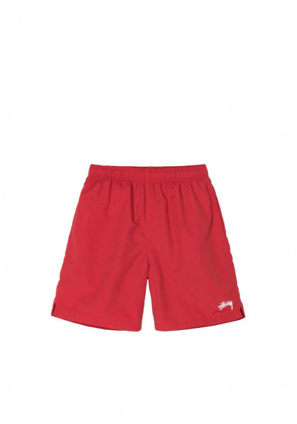 costume-da-bagno-uomo-stussy-stock-water-short-red
