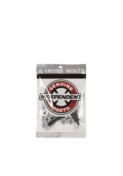 """accessorio-skateboard-independent-cross-bolts-7/8""""-silver-phillips"""