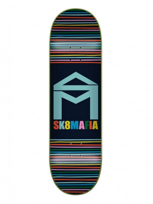 "tavola-skateboard-sk8mafia-house-logo-yarn-7.75""-+-grip-omaggio"