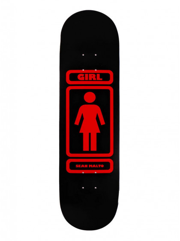"""tavola-skateboard-girl-malto-93-til-deck-8.0""""-+-grip-omaggio"""