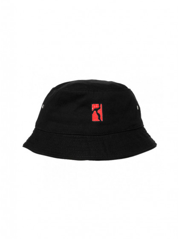 cappellino-poetic-collective-bucket-hat-black-red