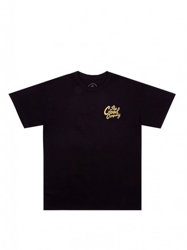t-shirt-maniche-corte-uomo-the-good-company-good-time-tee-black-peach