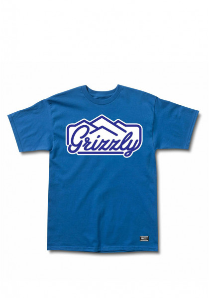 t-shirt-maniche-corte-uomo-grizzly-peaking-ss-tee-royal-blue