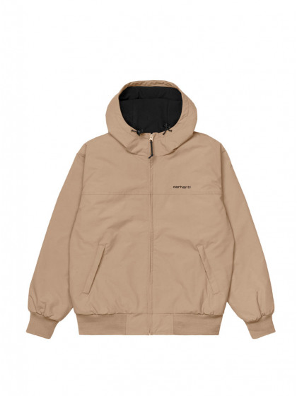 giacca-uomo-carhartt-hooded-sail-jacket-tanami-black