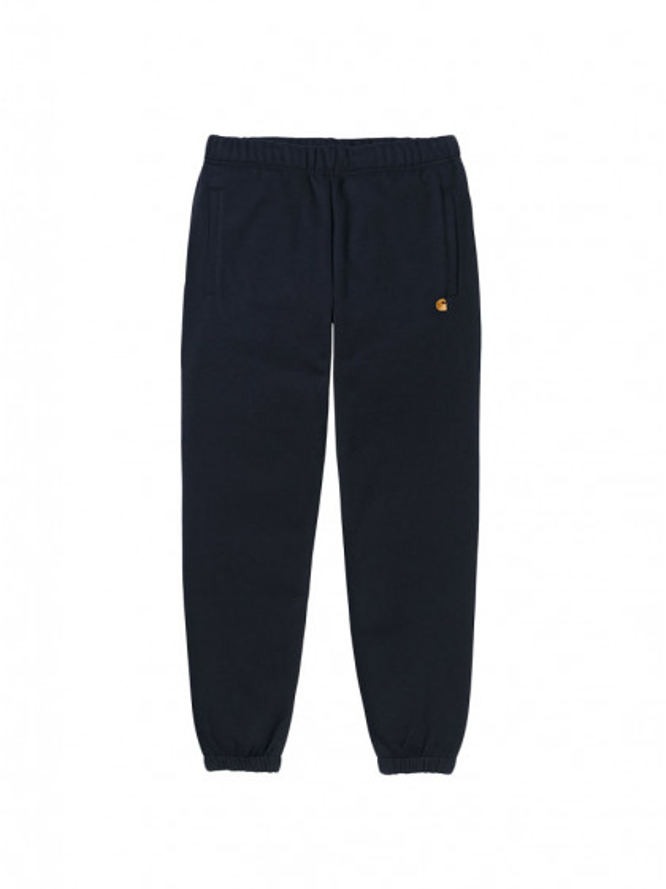 pantalone-tuta-carhartt-chase-sweat-pant-dark-navy-gold