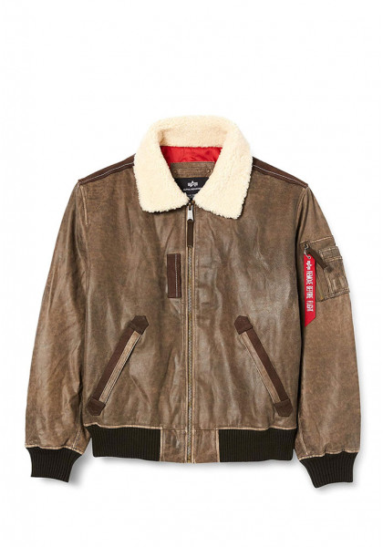 giacca-uomo-alpha-industries-injector-iii-leather-vintage-brown
