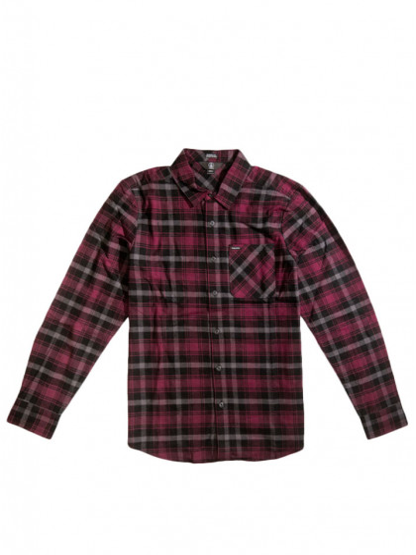 camicia-maniche-lunghe-uomo-volcom-caden-plaid-ls-port