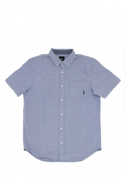 camicia-maniche-corte--uomo-vans-gibbon-ss-dress-blue