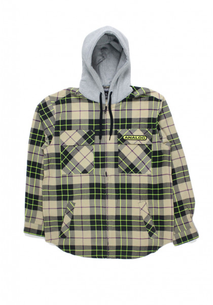 felpa-cappuccio-zip-uomo-analog-integrated-hooded-flannel-safari-bloom-plaid