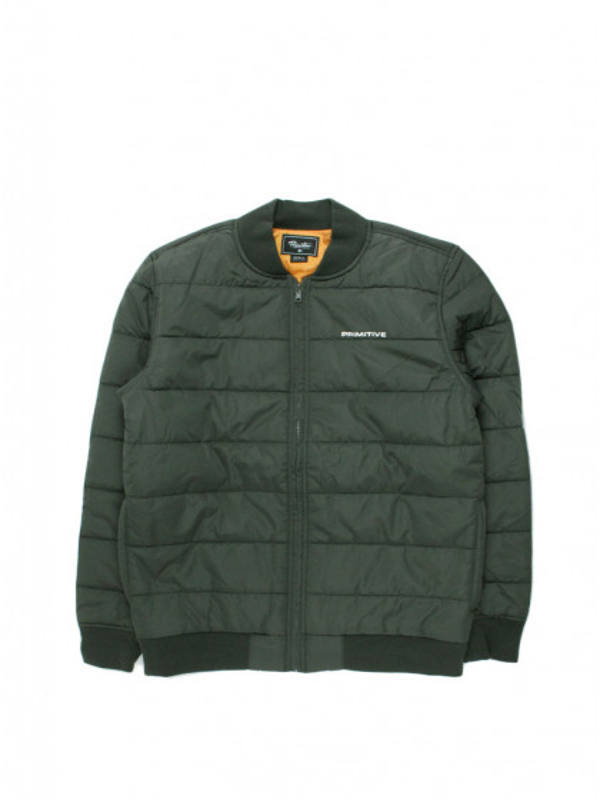 giacca-uomo-primitive-hadley-bomber-jacket-black-wash
