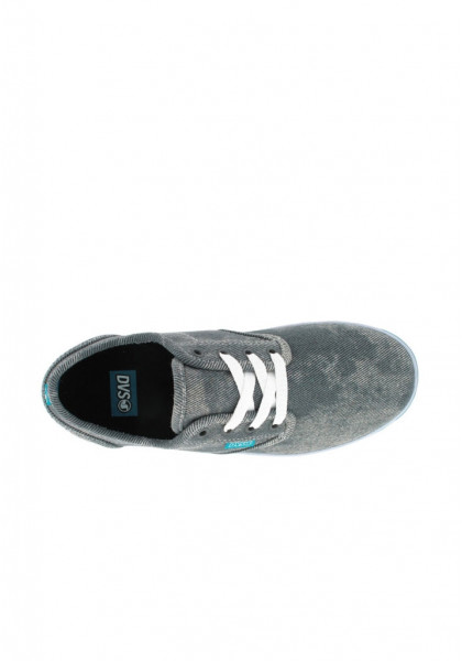 SCARPE SKATEBOARD DVS RICO CT GIRLS BLACK ACID WASH TWILL