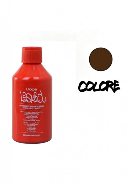 SPRAY & ACCESSORI DAY COLOR LIQUID DOPE 200ml CHOCOLATE