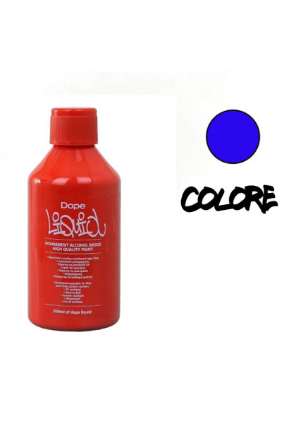 SPRAY & ACCESSORI DAY COLOR LIQUID DOPE 200ml ROYAL BLUE