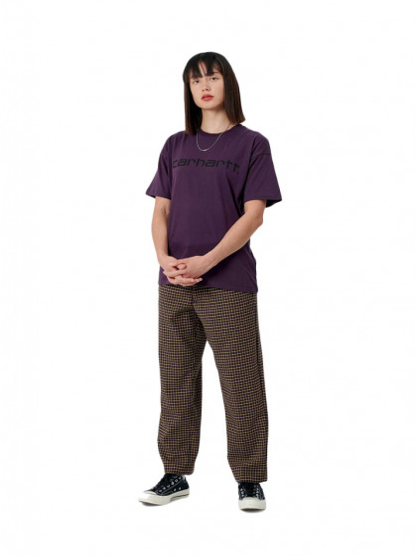 t-shirt-donna-carhartt-w-s/s-script-t-shirt-boysenberry-black