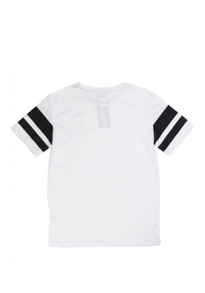 t-shirt-maniche-corte-donna-urban-classics-ladies-stripe-mesh-tee-white-black