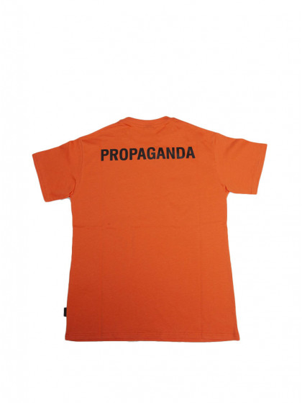 t-shirt-maniche-corte-uomo-propaganda-logo-tee-arancio