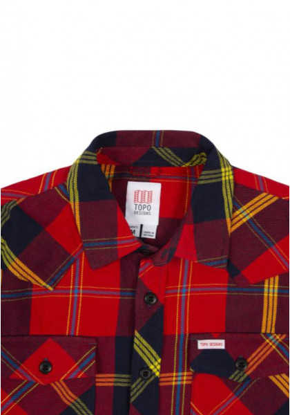 camicia-maniche-lunghe-uomo-topo-design-mountain-shirt-red-navy-plaid