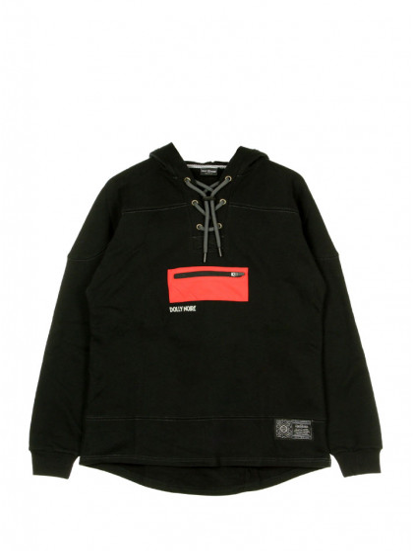 felpa-cappuccio-uomo-dolly-noire-death-viper-hockey-hoodie-black-red